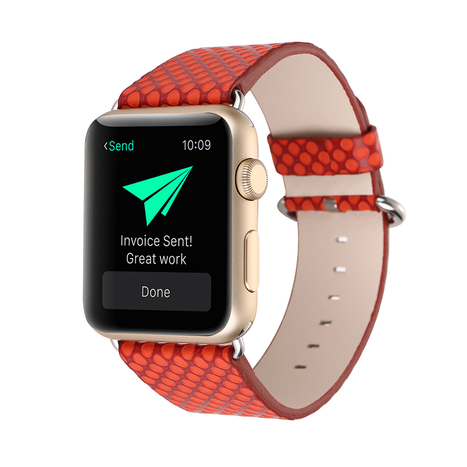 2019 For Apple Fashion Polka Dot Leather Watch Strap IWatch Watch Strap APPLE Wtach Watch Strap