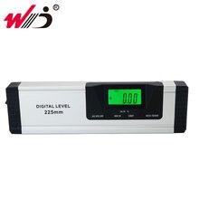 Electronic Level 360 degree Digital Protractor Angle Finder Inclinometer Magnets Level Digital Spirit Level 225 mm