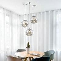 מסעדת חדר שינה מנורת פוסט מודרני creative אישיות יחיד ראש כדורי זכוכית קטן נברשת LB12165-באורות תלויים מתוך פנסים ותאורה באתר