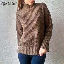 свитер, свитер, Женский водолазка