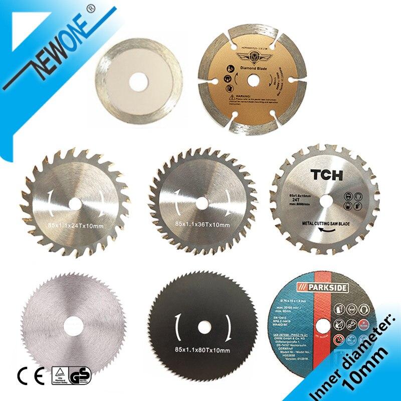 NEWONE Mini Electric Circular Saw Disc,60T/80T TCT Wood Circular Saw Blade Wood Cutting Disc Carbide Disc