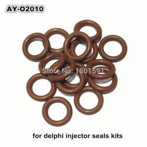 Image 2 - Freies verschiffen 100 einheit großhandel gummi o ringe dichtung für bosch kraftstoff injektor reparatur kits größe 9.19*2,62mm AY O2010