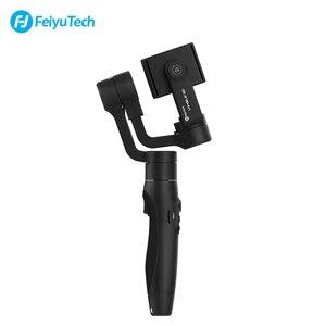 Image 2 - Feiyu vimble 2S vimble2S Smartphone 3 ציר כף יד Gimbal מייצב עבור iPhone X Gopro sjcam xiaomi Huawei סמסונג טלפון