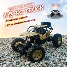 Rc car toy 1/18 4wd внедорожный электрический автомобиль с дистанционным