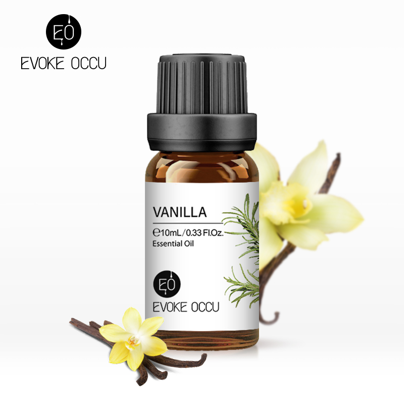 EVOKE OCCU Vanille Ätherische Öle 10ML Diffusor Öl Lavendel Jasmin Eukalyptus Orange Zitrone Kamille Zedernholz Öl