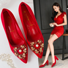 Red Wedding Shoes Wo...