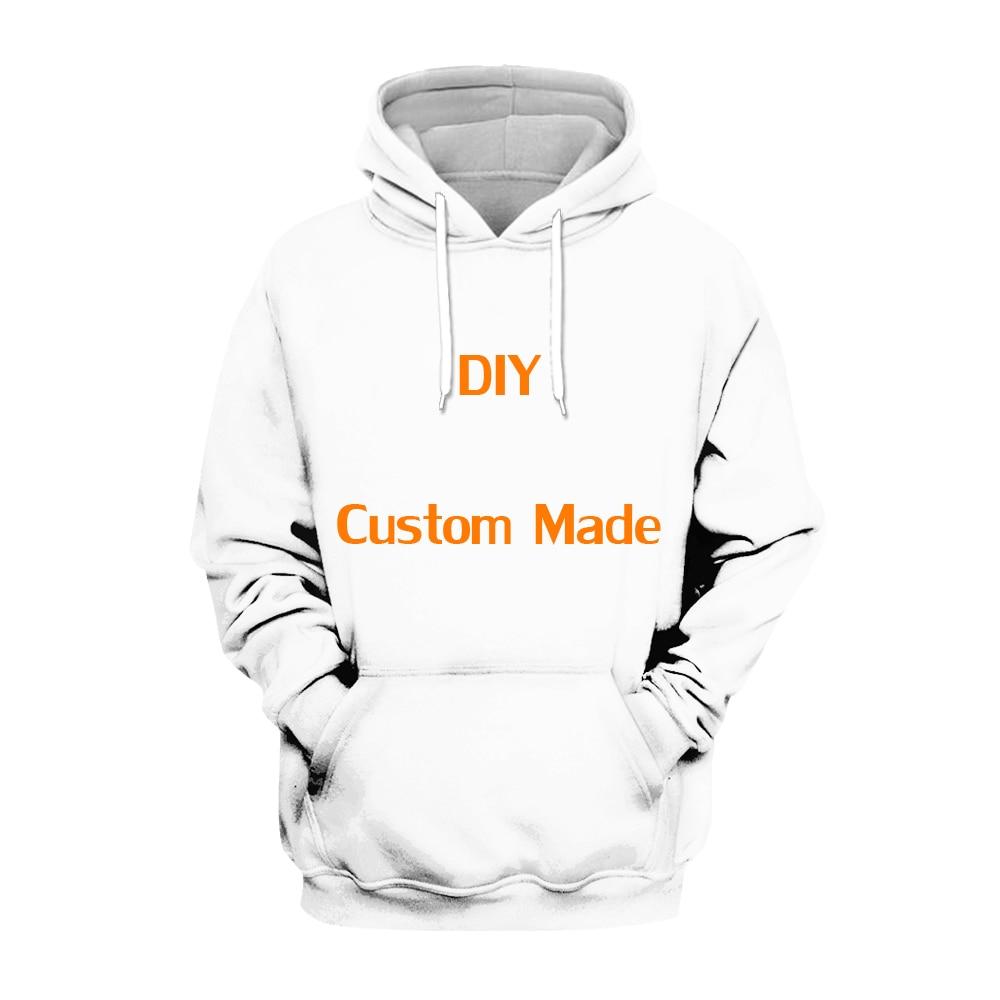 Plstar Cosmos DIY Custom Made 3D Hoodie Tee Men Women  Hooded Sweatshirt Long Sleeve Pullover Style