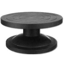 30 см гончарное колесо моделирующая платформа скульптурная Поворотная платформа модель для изготовления глиняных скульптур инструменты Круглый Поворотный лист инструменты для гончарного дела