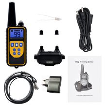 Electric Dog Training Collar Pet Remote Control Waterproof Rechargeable w/ LCD Display for All Size Shock Vibration Sound 880 new 800m electric dog training collar remote control waterproof rechargeable with lcd display for all size shock vibration sound