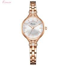 Kimio Fashion Women Watches Quartz Wristwatch Stainless Steel Bracelet