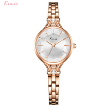 Kimio Fashion Women Watches Quartz Wristwatch Stainless Stee