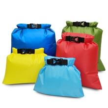 5 Pcs Waterdichte Tas Set Opslag Roll Top Dry Bag Set Storage Pack Voor Schaatsen Camping Varen Zeilen Surfen Vissen 5 Sized