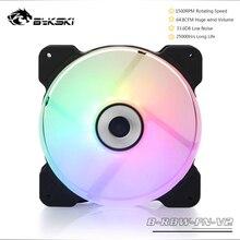 Bykski B-RBW-FN-V2 Symphony 12CM Wind Volume Cooling Fan For PC Cooling 5V 3PIN ARGB/12V 4PIN RGB SYNC Controller