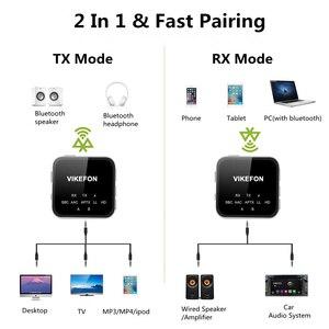 Image 3 - דיבורית שיחת Bluetooth 5.0 מקלט משדר CSR8675 AptX HD/LL 3.5mm AUX RCA אודיו אלחוטי מתאם עבור טלוויזיה רכב רמקול מחשב