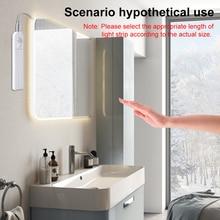 1M 2M 3M Motion Sensor LED Decor Lamp Tape AAA Battery Night Light 5V Bedside Strip for bedroom Stair Closet Wardrobe