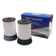 Tp1007 kit de filtro combustível profissional com tampas e selos se encaixa 2016 + chevrolet colorado/gmc canyon com motor 2.8l duramax