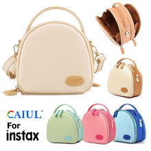PU Leather Storage Carrying Bag Case Pouch Cover  For Polaroid 300 Fujifilm Instax Mini 8 9 7S 70 11 LiPlay Instant Film Camera