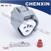 Connettore auto impermeabile grigio a 3 pin (2.2) connettore femmina 6189 0179 bobina di accensione