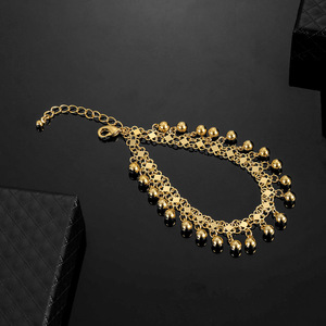 Image 4 - No Faded Allah Muslim Arabic Islam Necklace Long Gold Beaded Link Chains Turkish Middle East Bracelet Jewelery Set