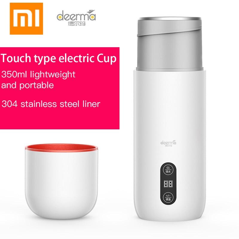 XIAOMI Deerma electric Cup portable heating travel waterboiling multifunctional artifact mini healthpreserving electric stew Cup