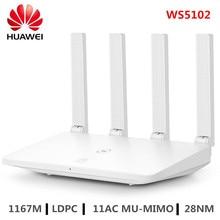 HUAWEI routeur double bande wi fi WS5102, 2.4/5GHz, LDPC 11AC 100, MU MIMO mb/s, mb/s, amplificateur sans fil pour maison connectée, compatible IPv6