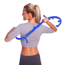 Massage-Stick S-Shaped Trigger-Point Muscle-Pain-Relief Double-Hook Handheld Full-Body