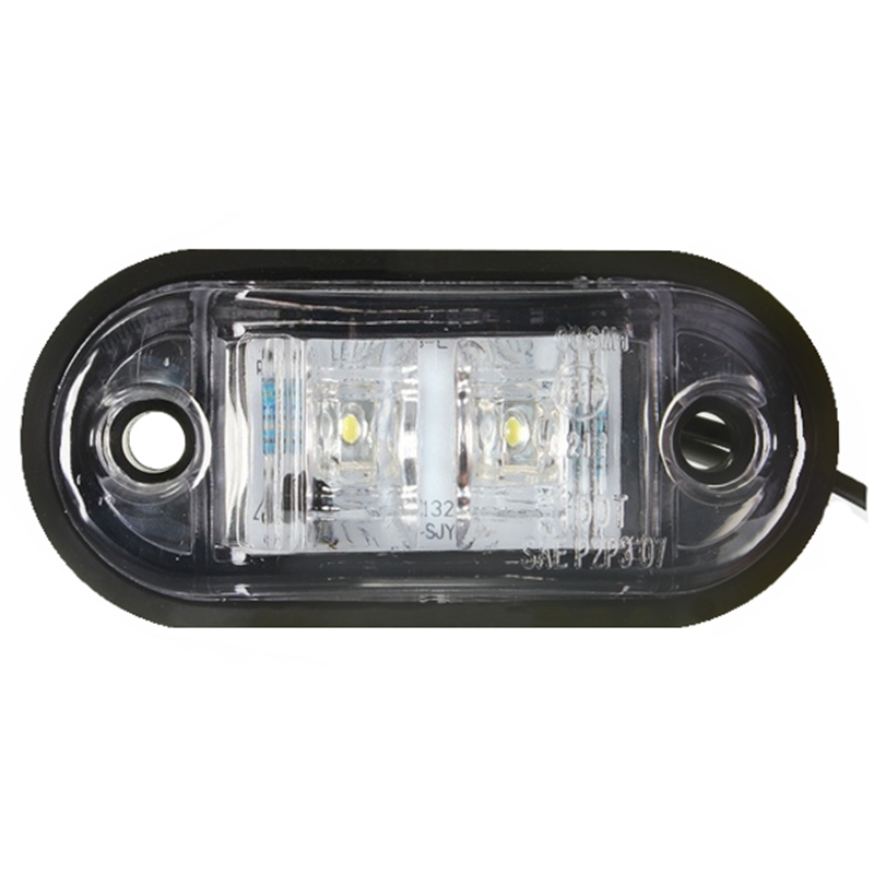 2 предмета 12 V/24 V 2 светодиодные, боковые, габаритные фонари светодиодные лампы для автомобиля грузовика прицепа e-помечено красный и зеленый смешанные цвета, красный и синий, белый цвет