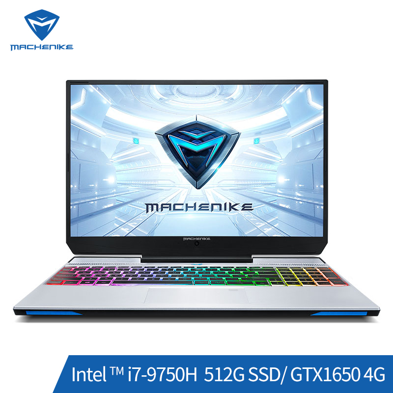 Machenike F117-VB1 Gaming Laptop (Intel Core I7-9750H+GTX 1650/8GB RAM/512G SSD/15.6'' 72%NTSC) игровой ноутбук Notebook ноутбук