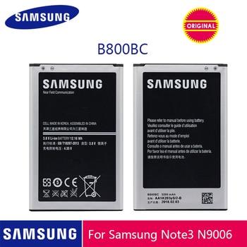 SAMSUNG oryginalny bateria do telefonu B800BE B800BC 3200mAh do Samsung Galaxy Note 3 N900 N9006 N9005 N9000 N900A N900T N900P