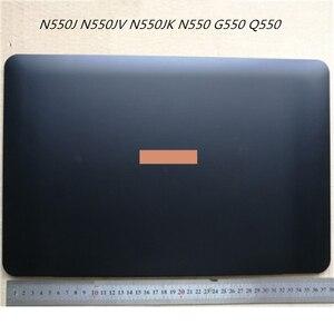 Новинка, ЖК-задняя крышка, крышка для экрана, крышка для ASUS N550J N550JV N550JK N550 G550 Q550