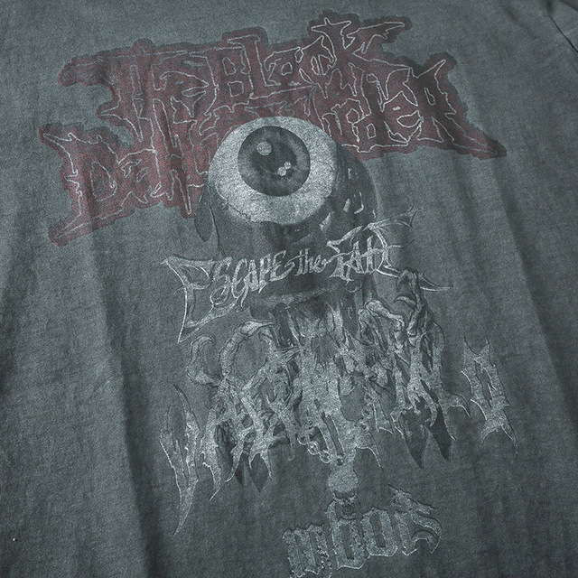Men T Shirt Hip Hop 2020 Dark Streetwear Tshirt Evil Eye Print Harajuku Summer Short Sleeve T-Shirt Cotton Tops Tees Oversize 5