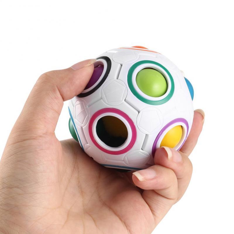 Toy Fidget-Ball Autism-Toys Rainbow-Puzzles Brain Teaser Anti-Stress Magic Creative Maze img3