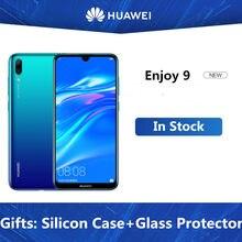 DHL Schnelle Lieferung HuaWei Y7 Pro 2019 Genießen 9 4G LTE Handy 6,26 zoll Android 8,1 Octa Core 4000mAh 4GB RAM 128GB ROM Gesicht ID