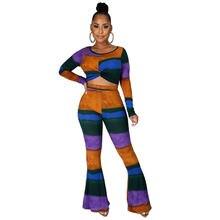 Осенне зимняя женская цветная футболка с длинными рукавами и