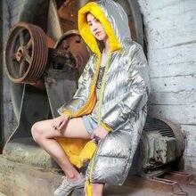 2020 Winter Jacket Women Streetwear Parkas Female Hooded Waterproof Windbreak Th