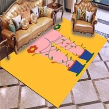 Коврики с рисунком наклейки для гостиной мягкие декоративные