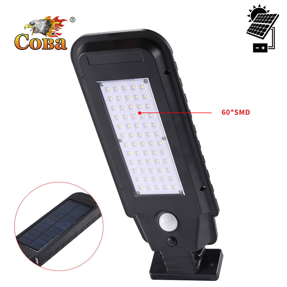<font><b>Led</b></font> solar power light outdoor sun <font><b>posered</b></font> induction cob street <font><b>lamp</b></font> waterproof 2 modes ABS plastic christmas decoration lantern image
