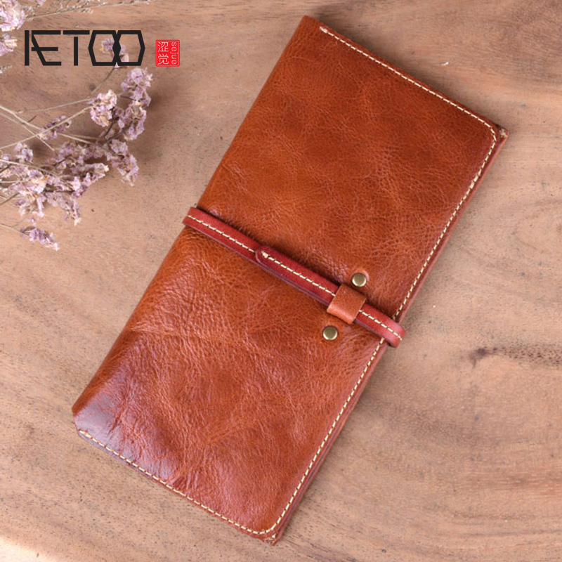 Aetoo Las Handcrafted Leather Wallet