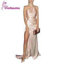 Вечернее платье Русалка на одно плечо модель 2020 года