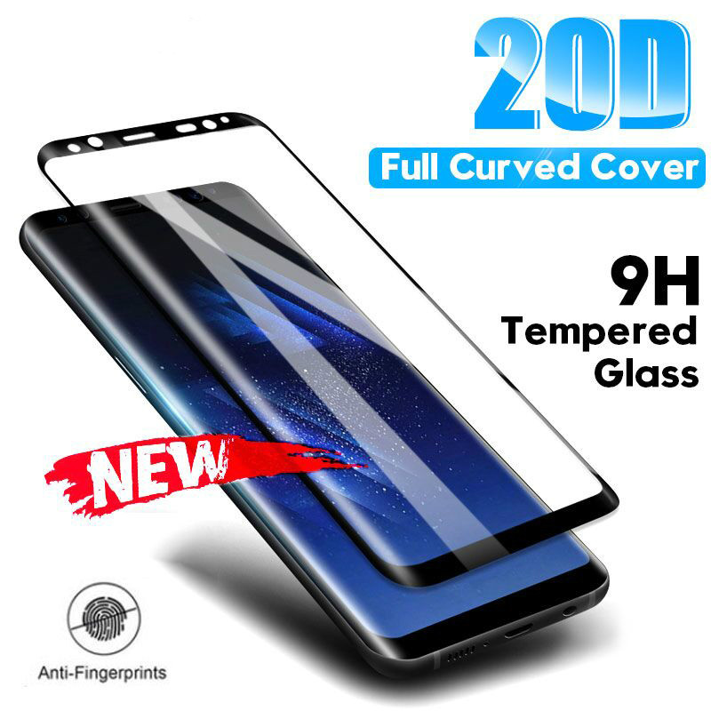 20D Tempered Glass For Samsung Galaxy Note 8 9 S8 S9 Plus Screen Protector For Samsung S7 Edge A6 A8 Plus 2018 Protective Film