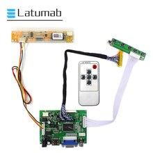 Placa controladora para qd14tl01 1280x800 lcd led screen 2av vga + hdmi-kit de placa de motorista compatível