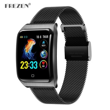 Smart Watch F9 Blood Pressure Heart Rate Monitor IP68 Fitness Bracelet Watch Women Men Smartwatch for IOS Android