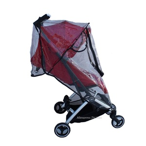 Image 5 - 1:1 Tailor Made Baby Stroller Accessories Goodbaby Raincoat Rain Cover Dust proof Cover Windproof Cover for GB POCKIT+ All City