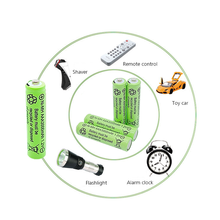 1.2V AAA 3000 mAh 1.2 V Quality rechargeable battery AAA 3000 mAh Ni-MH rechargeable 1.2 V 2A battery