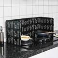 Кактус печатная алюминиевая фольга масляный блок масляный барьер плита приготовления анти-брызг масла дефлектор Тепловая посуда изоляция ...