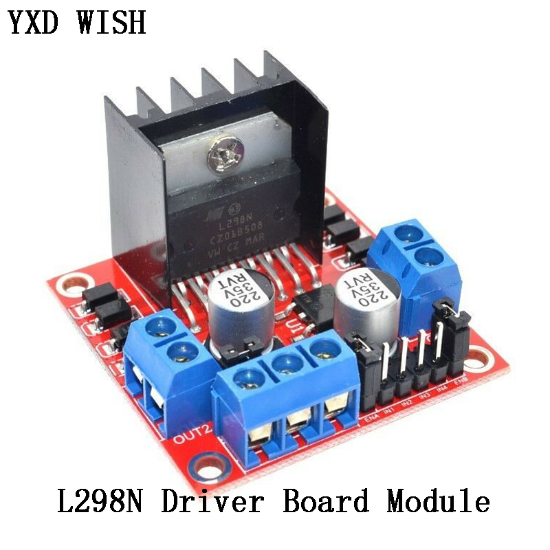 L298N Motor Driver Board Module L298 Stepper Motor Smart Car Robot Breadboard Peltier L298N High Power For Arduino Motor Driver