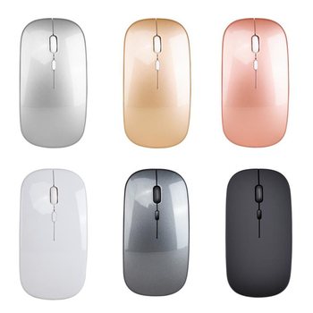 2.4G Wireless Mouse  Ultra-Thin Silent Mouse For Home Office Use Mute Office Notebook Mice Rechargeable Portable Optical Mice 30 jelly comb 2 4g usb wireless mouse for laptop ultra slim silent mouse for computer pc notebook office school optical mute mice