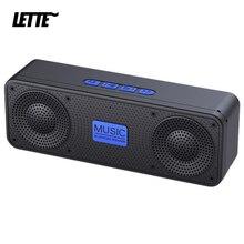 TWS Wireless Bluetooth Speaker with USB Flash Drive TF Card FM Subwoofer 5W 1200mAh 10H Playback Bass Column