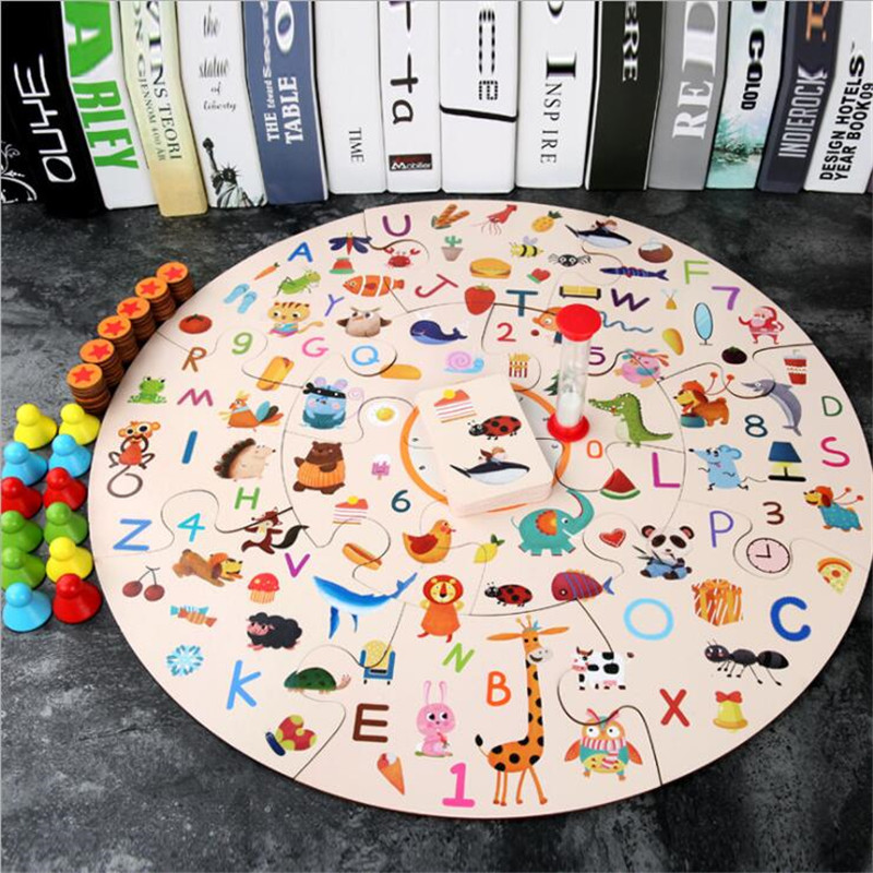 Educational Toys Set For Children Parent-child Interaction To Find Matching Pictures Exercising Baby Memory Gift Montessori Toys
