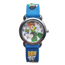BEN10 Watch Children Fashion Waterproof Kids Watches Quartz Wristwatches Kid Clock boys girls Students Watch Relogio kol saati relogio femino kids watches lovely watch children students watch girls watch watches hot 6 09